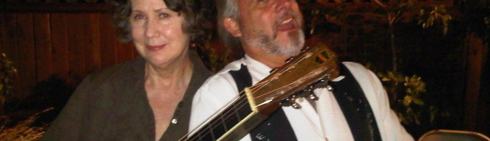 Mary and Ken Emerson after a houseboat concert in Portland, summer of 2010